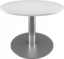 Jumbo rundt bord med søylefot