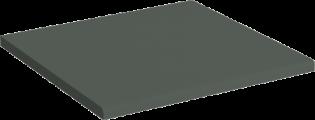 Høytrykkslaminat med postformet kant 3 cm tykkelse