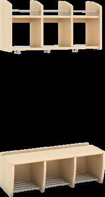 Gobi garderobebenk